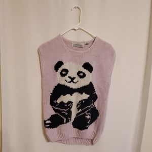 Vintage | Panda Knit Sweater